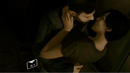 Heavy Rain: kissing